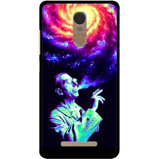 Snooky Printed Universe Mobile Back Cover For Gionee S6s - Multi