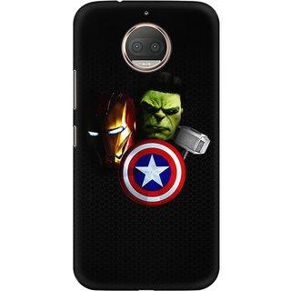 TLG - AvengersDesigned, Hard Case, 3D Matte finish Back Cover for Moto E4 Plus