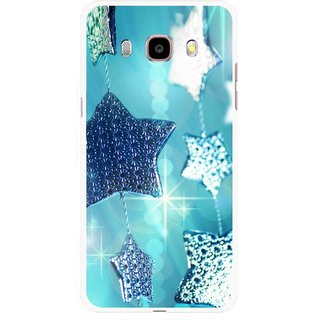 Snooky Printed Sparkling Stars Mobile Back Cover For Samsung Galaxy J5 (2016) - Multicolour