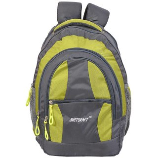 Airport Grey P Green Backpack