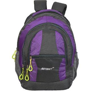 Airport Grey Lite Purple Backpack