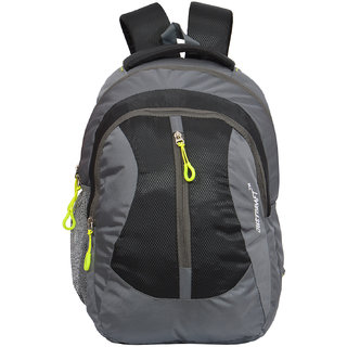 274df79b866f Buy Flora Grey Black Backpack Online - Get 36% Off
