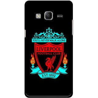 Snooky Printed Football Club Mobile Back Cover For Samsung Tizen Z3 - Multicolour