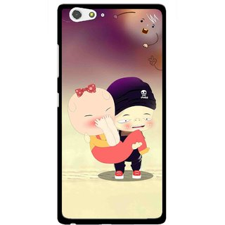 Snooky Printed Friendship Mobile Back Cover For Gionee Elife S6 - Multi