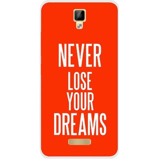 Snooky Printed Never Loose Mobile Back Cover For Gionee P7 - Multicolour