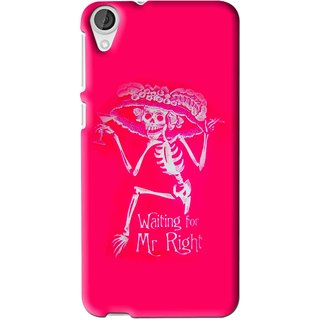 Snooky Printed Mr.Right Mobile Back Cover For HTC Desire 626 - Multi