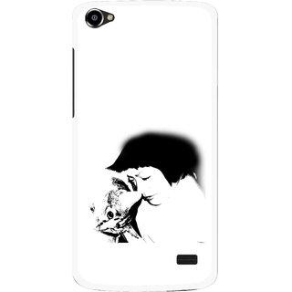 Snooky Printed Pet Lover Mobile Back Cover For Intex Aqua Star 2 HD - Multi