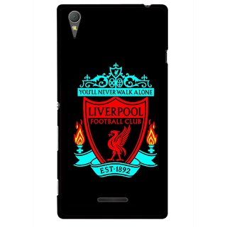 Snooky Printed Football Club Mobile Back Cover For Sony Xperia T3 - Multicolour