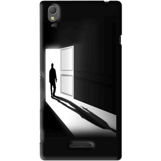Snooky Printed Night Out Mobile Back Cover For Sony Xperia T3 - Multi