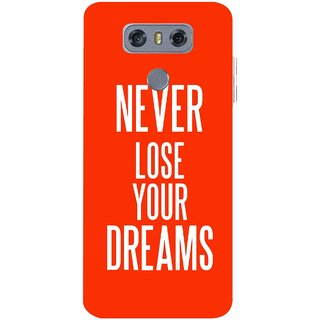 Snooky Printed Never Loose Mobile Back Cover For LG G6 - Multicolour