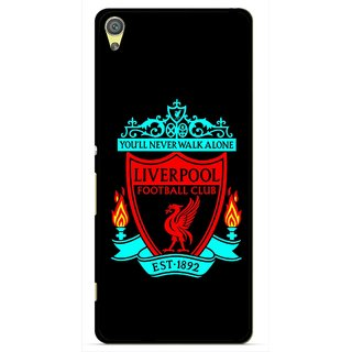 Snooky Printed Football Club Mobile Back Cover For Sony Xperia XA - Multicolour