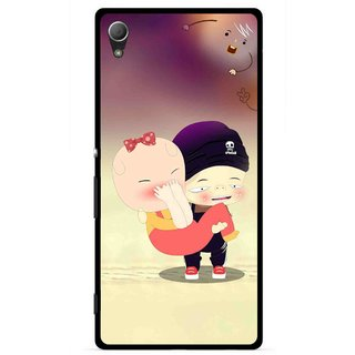 Snooky Printed Friendship Mobile Back Cover For Sony Xperia Z4 - Multi