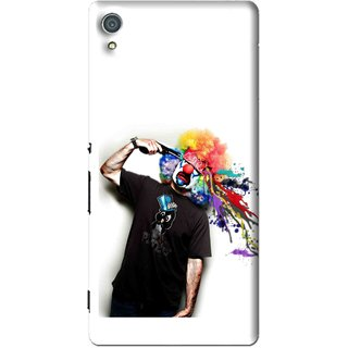 Snooky Printed Shooting Joker Mobile Back Cover For Sony Xperia Z4 - Multi