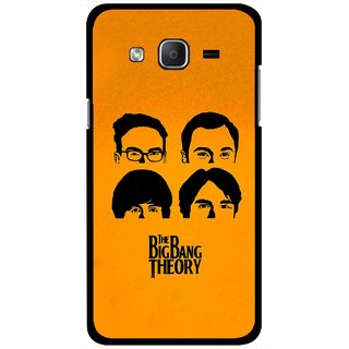 Snooky Printed Bigbang Mobile Back Cover For Samsung Galaxy On5 - Yellow