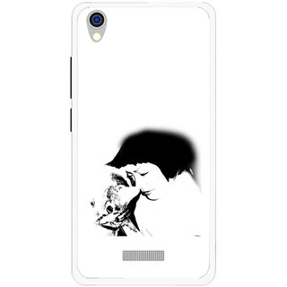 Snooky Printed Pet Lover Mobile Back Cover For Lava Iris X9 - Multi