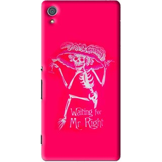 Snooky Printed Mr.Right Mobile Back Cover For Sony Xperia Z4 - Multi