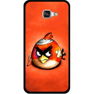 Snooky Printed Wouded Bird Mobile Back Cover For Samsung Galaxy A3 (2016) - Red