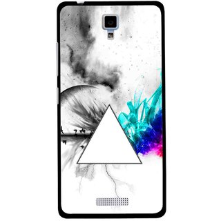 Snooky Printed Math Art Mobile Back Cover For Gionee Pioneer P4 - Multicolour