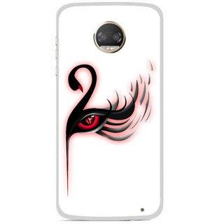 Snooky Printed Eye Art Mobile Back Cover For Motorola Moto Z2 Play - Multicolour