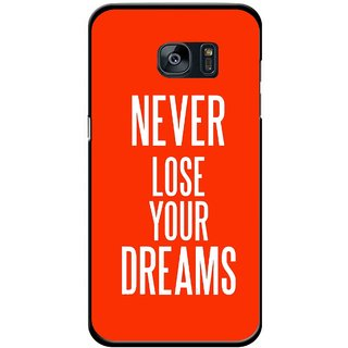 Snooky Printed Never Loose Mobile Back Cover For Samsung Galaxy S7 Edge - Multicolour