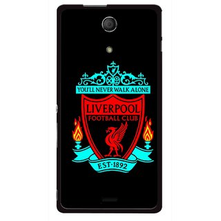 Snooky Printed Football Club Mobile Back Cover For Sony Xperia ZR - Multicolour