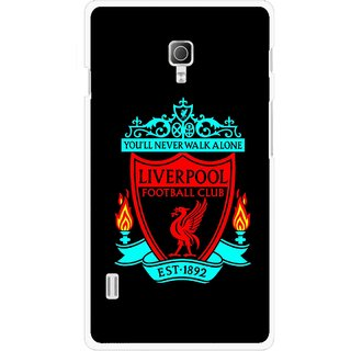 Snooky Printed Football Club Mobile Back Cover For Lg Optimus L7 II P715 - Multicolour
