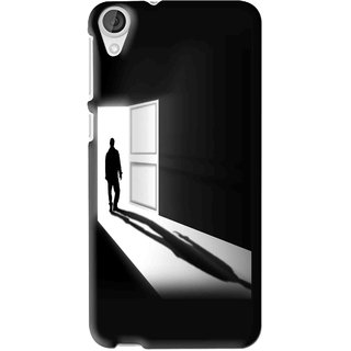 Snooky Printed Night Out Mobile Back Cover For HTC Desire 626 - Multi