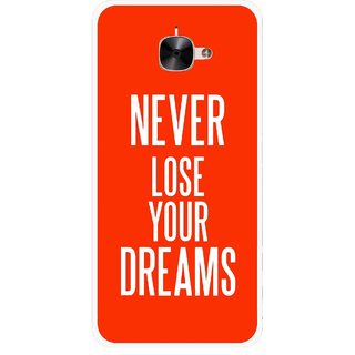 Snooky Printed Never Loose Mobile Back Cover For Letv Le 2 - Multicolour