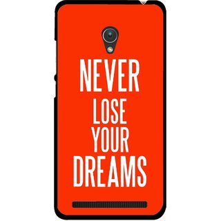 Snooky Printed Never Loose Mobile Back Cover For Asus Zenfone 5 - Multicolour