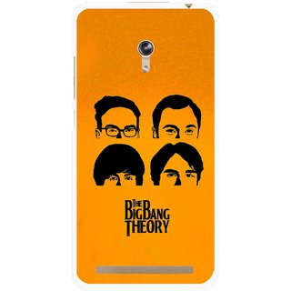 Snooky Printed Bigbang Mobile Back Cover For Asus Zenfone 6 - Yellow