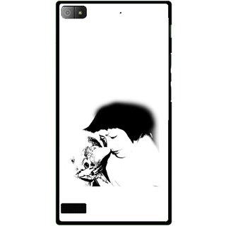 Snooky Printed Pet Lover Mobile Back Cover For Blackberry Z3 - Multi