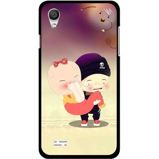 Snooky Printed Friendship Mobile Back Cover For Vivo Y11 - Multi
