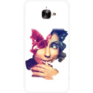Snooky Printed Vintage Girl Mobile Back Cover For Letv Le 2 - Multicolour