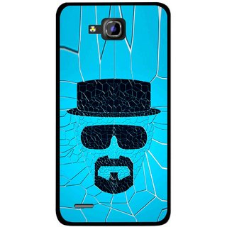Snooky Printed Beard Man Mobile Back Cover For Huawei Honor 3C - Multicolour
