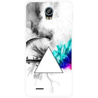 Snooky Printed Math Art Mobile Back Cover For Intex Aqua Life 2 - Multicolour