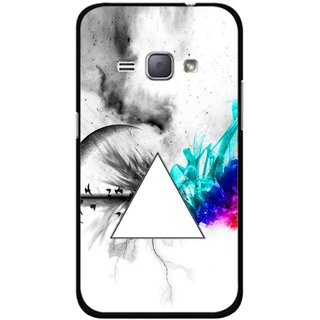 Snooky Printed Math Art Mobile Back Cover For Samsung Galaxy J1 - Multicolour