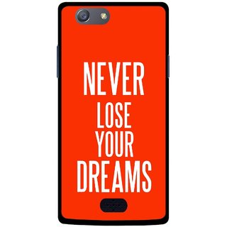 Snooky Printed Never Loose Mobile Back Cover For Oppo Neo 5 - Multicolour