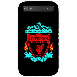 Snooky Printed Football Club Mobile Back Cover For Blackberry Classic - Multicolour