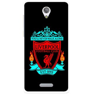 Snooky Printed Football Club Mobile Back Cover For Gionee Marathon M4 - Multicolour