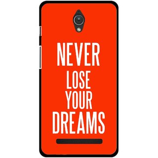 Snooky Printed Never Loose Mobile Back Cover For Asus Zenfone C - Multicolour