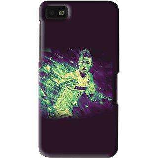 Snooky Printed Running Boy Mobile Back Cover For Blackberry Z10 - Multi