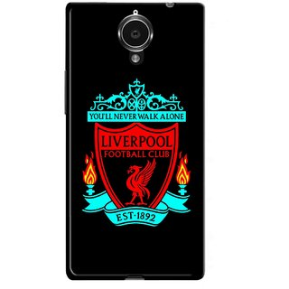 Snooky Printed Football Club Mobile Back Cover For Gionee Elife E7 - Multicolour