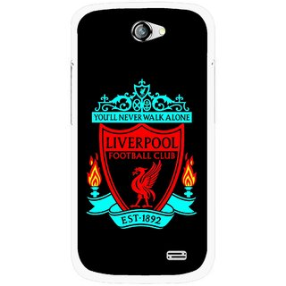 Snooky Printed Football Club Mobile Back Cover For Gionee Pioneer P2 - Multicolour