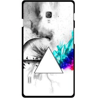 Snooky Printed Math Art Mobile Back Cover For Lg Optimus L7 II P715 - Multicolour