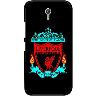 Snooky Printed Football Club Mobile Back Cover For Lenovo Zuk Z1 - Multicolour