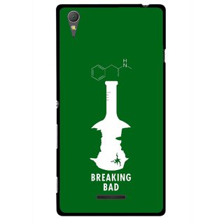 Snooky Printed Breaking Bad Mobile Back Cover For Sony Xperia T3 - Multicolour