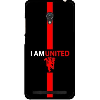 Snooky Printed United Mobile Back Cover For Asus Zenfone 5 - Multicolour