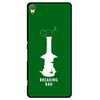 Snooky Printed Breaking Bad Mobile Back Cover For Sony Xperia XA - Multicolour