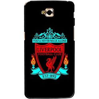 Snooky Printed Football Club Mobile Back Cover For Lg G Pro Lite - Multicolour