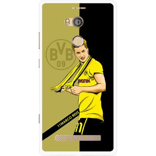 Snooky Printed Sports Player Mobile Back Cover For Gionee Elife E8 - Multicolour